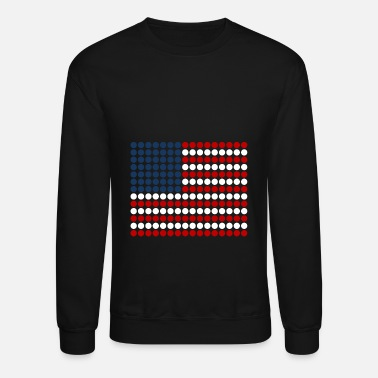Flag - America - USA - Crewneck Sweatshirt