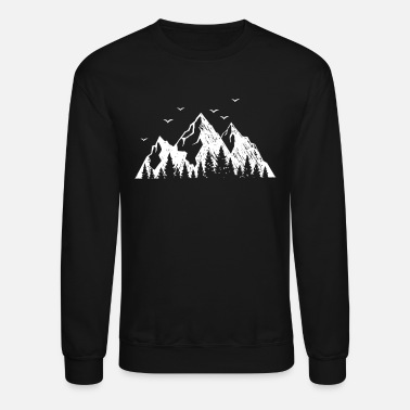Summit mountain alps mountaineering summit climb outdoor - Crewneck Sweatshirt