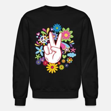 Peace sign hoodie peace sign sweatshirt Men/'s size peace symbol sweat shirt