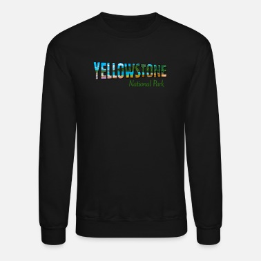 National Yellowstone National Park - Crewneck Sweatshirt