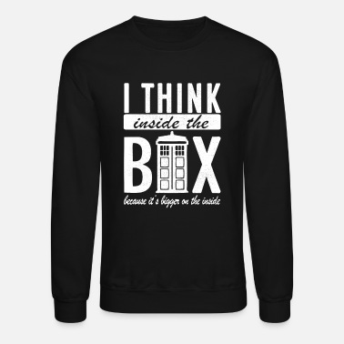Inside I Think Inside The Box - Crewneck Sweatshirt