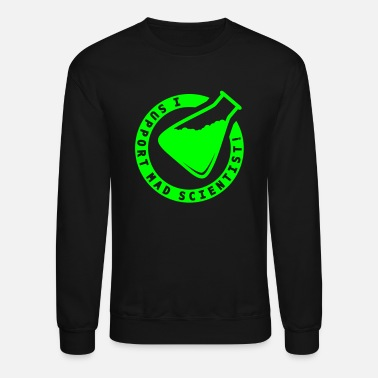 Dark Gitd GitD Support Mad Scientist - Unisex Crewneck Sweatshirt
