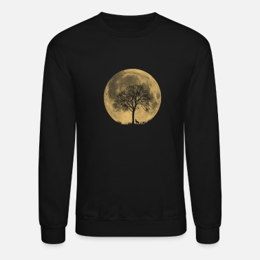 Tree moon tree - Unisex Crewneck Sweatshirt