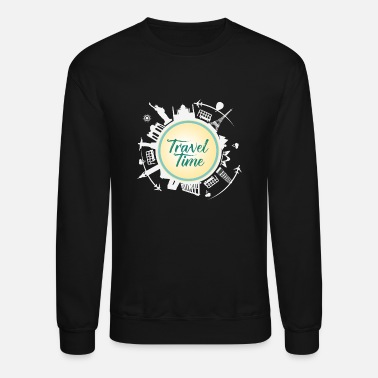 Time Travel Traveller - Time to summer travel - Crewneck Sweatshirt