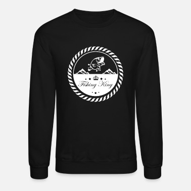Fishing, Fishing, Petri Heil, Hobby, Fish, Fishing - Unisex Crewneck Sweatshirt