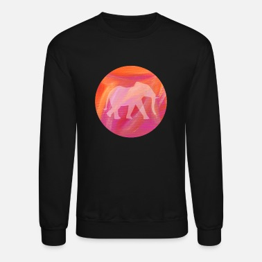 Elephant Painting Yoga Meditation Energy relax - Unisex Crewneck Sweatshirt