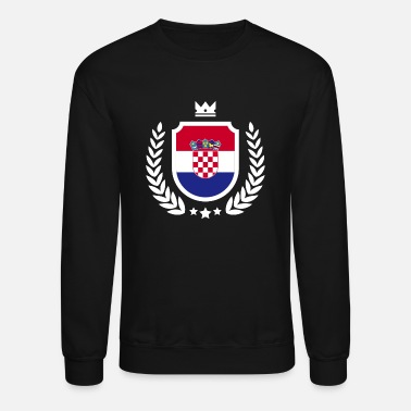 da5255834d4 Croatia - Soccer World Cup - Emblem Unisex Fleece Zip Hoodie ...