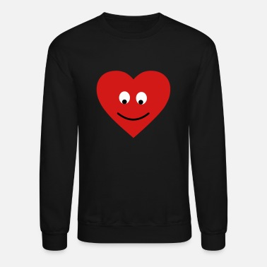 Heart heart head - Unisex Crewneck Sweatshirt