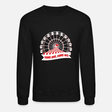 Fun Fair Carnival Fun Fair Beach Fun Roller Coaster - Unisex Crewneck Sweatshirt