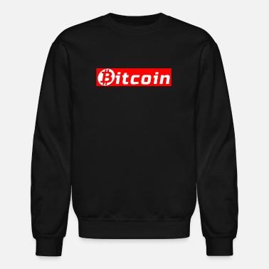 073eb8a06 Bitcoin Supreme Box Logo - Unisex Crewneck Sweatshirt