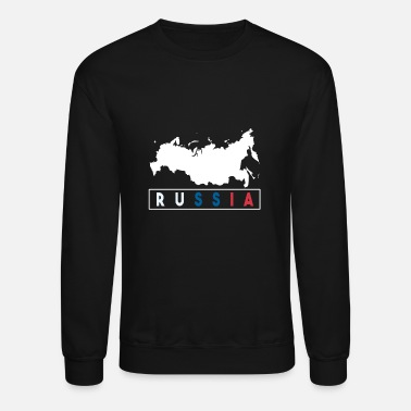 Russian Military Russia gift map Putin military - Unisex Crewneck Sweatshirt