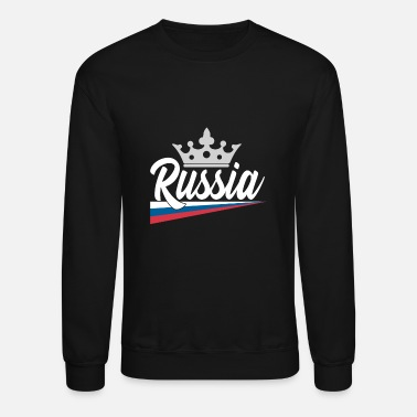 Russian Military Russia gift map Vodka military - Unisex Crewneck Sweatshirt