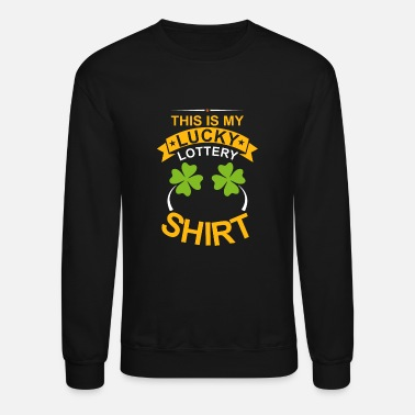 Winner Lottery Winner Gifts | Four-leaf Clover - Crewneck Sweatshirt