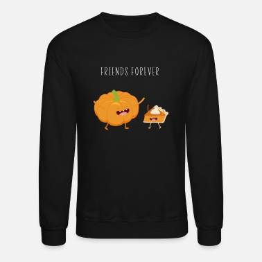 Funny Pumpkin Pie Thanksgiving T-Shirt Tee Gift - Crewneck Sweatshirt
