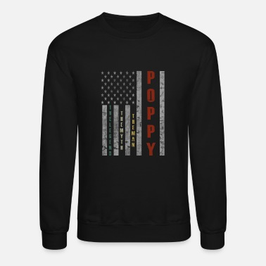 Poppy Poppy The Man The Myth The Legend - Crewneck Sweatshirt