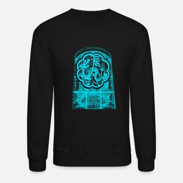 Mythical Beast The mythical beast dragon head monster creature - Unisex Crewneck Sweatshirt