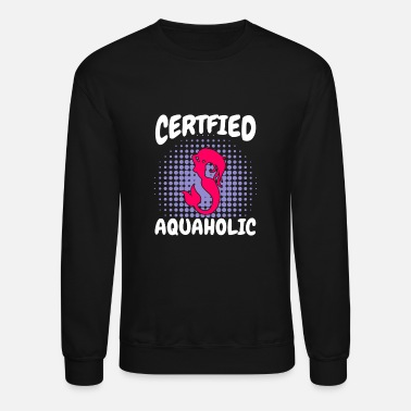 swimmer swimming water sports pool gift h2o - Unisex Crewneck Sweatshirt