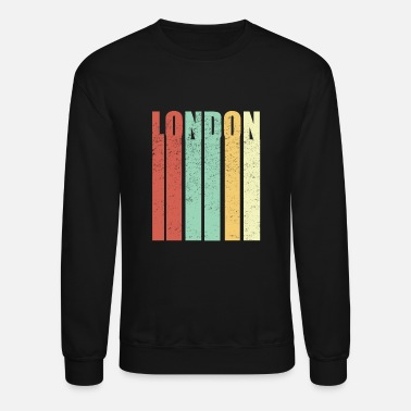 Kingdom London England Vintage - Unisex Crewneck Sweatshirt