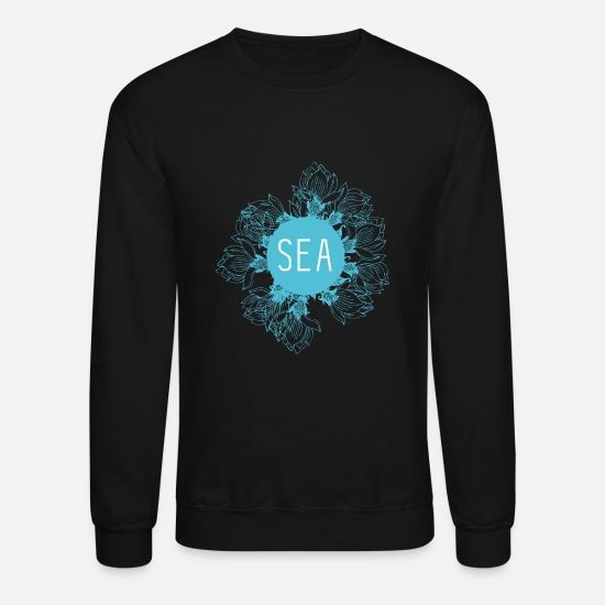 Sea Hoodies & Sweatshirts - SEA - Unisex Crewneck Sweatshirt black