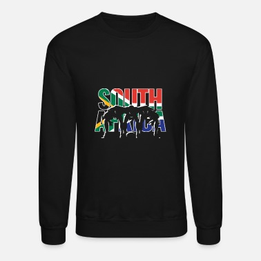 South Africa South Africa Rugby 2019 Fans Kit for South - Unisex Crewneck Sweatshirt