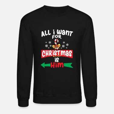 Matching Couples Christmas Couple Matching For Women - Unisex Crewneck Sweatshirt