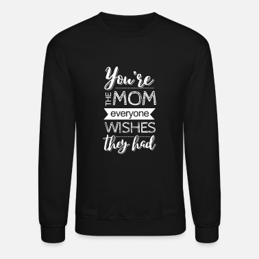 Born In Mom - Unisex Crewneck Sweatshirt