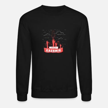 India Stand With Kashmir To Stop This Massacre - Stop - Unisex Crewneck Sweatshirt