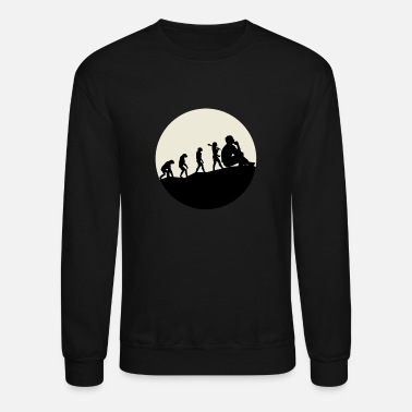 Evolution Sociologists Evolution Moon - Unisex Crewneck Sweatshirt
