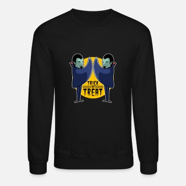 Cloaking The Scariest Are The Vampires - Unisex Crewneck Sweatshirt