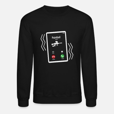 Mobile Paintball Mobile is Calling Mobile - Unisex Crewneck Sweatshirt