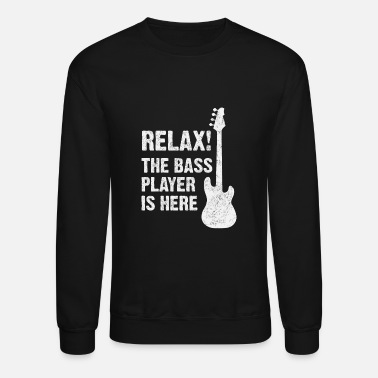 Bass Player Girlfriend bass player - Unisex Crewneck Sweatshirt
