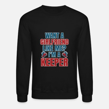 Goalkeeper Funny Soccer Goalkeepers Gift for Football - Unisex Crewneck Sweatshirt