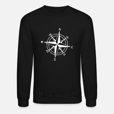 Mountains compass - Unisex Crewneck Sweatshirt