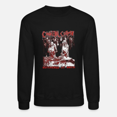 Cannibal Cannibal corpse - Butchered at birth cool t - sh - Crewneck Sweatshirt
