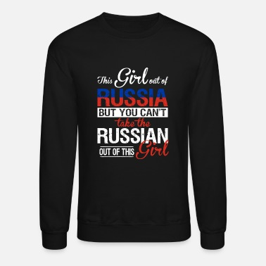 Russian Circles Russia - You can't take the russian out of her - Unisex Crewneck Sweatshirt
