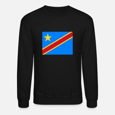 Cd Flag of Congo (cd) - Unisex Crewneck Sweatshirt