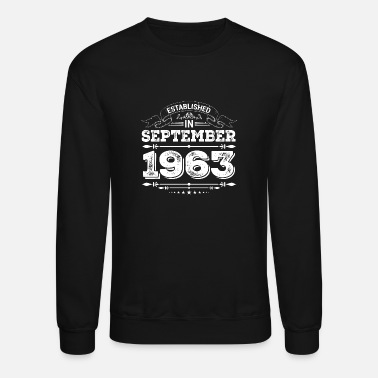 Established Established in September 1963 - Unisex Crewneck Sweatshirt