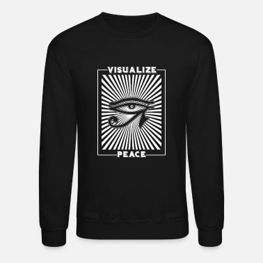 Visualization Visualize Peace - Visualize Peace - Unisex Crewneck Sweatshirt