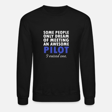 Daughter PILOT'S DAD - Unisex Crewneck Sweatshirt