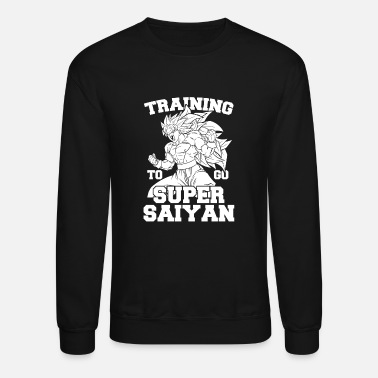 Dragon Dragon Ball Lifting - Training to go super Saiya - Crewneck Sweatshirt