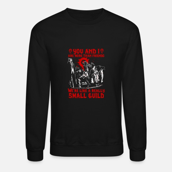 World Hoodies & Sweatshirts - World Of Warcraft - Wow horde guild - Unisex Crewneck Sweatshirt black