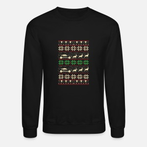 Mustang Ugly Christmas Sweater Mens Premium T Shirt Spreadshirt