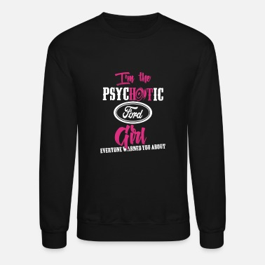Michael Clifford Ford - Ford - im the psychotic ford girl - Unisex Crewneck Sweatshirt