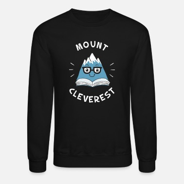Mount Cleverest Mount Cleverest - Unisex Crewneck Sweatshirt