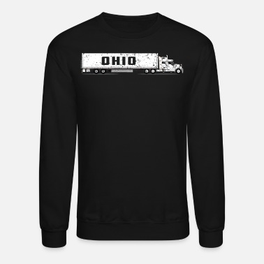 Drivers License Commercial Drivers License Ohio CDL Training Shirt - Unisex Crewneck Sweatshirt
