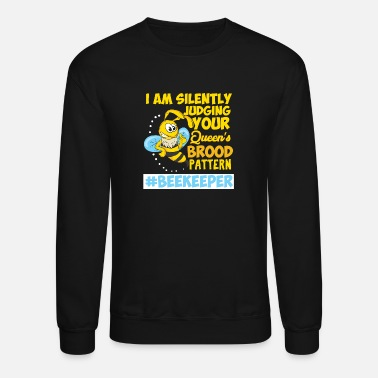 Stinger Beekeeper Beekeeping Honey Bee Queen Gift - Unisex Crewneck Sweatshirt