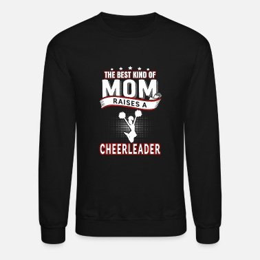 Bobble Cheer leader - The best kind of mom raises one - Crewneck Sweatshirt