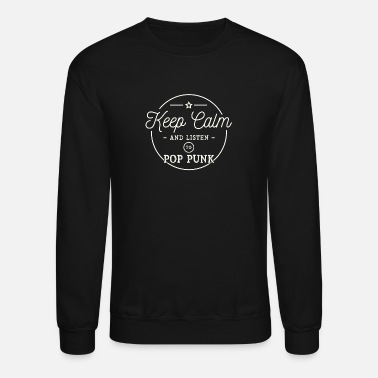 Punkx Listen to Pop Punk - Unisex Crewneck Sweatshirt