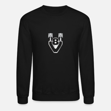 Mechanic V8 - engine, displacement, tuning - Unisex Crewneck Sweatshirt