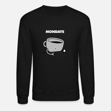 Monday Mondays Coffee - Unisex Crewneck Sweatshirt